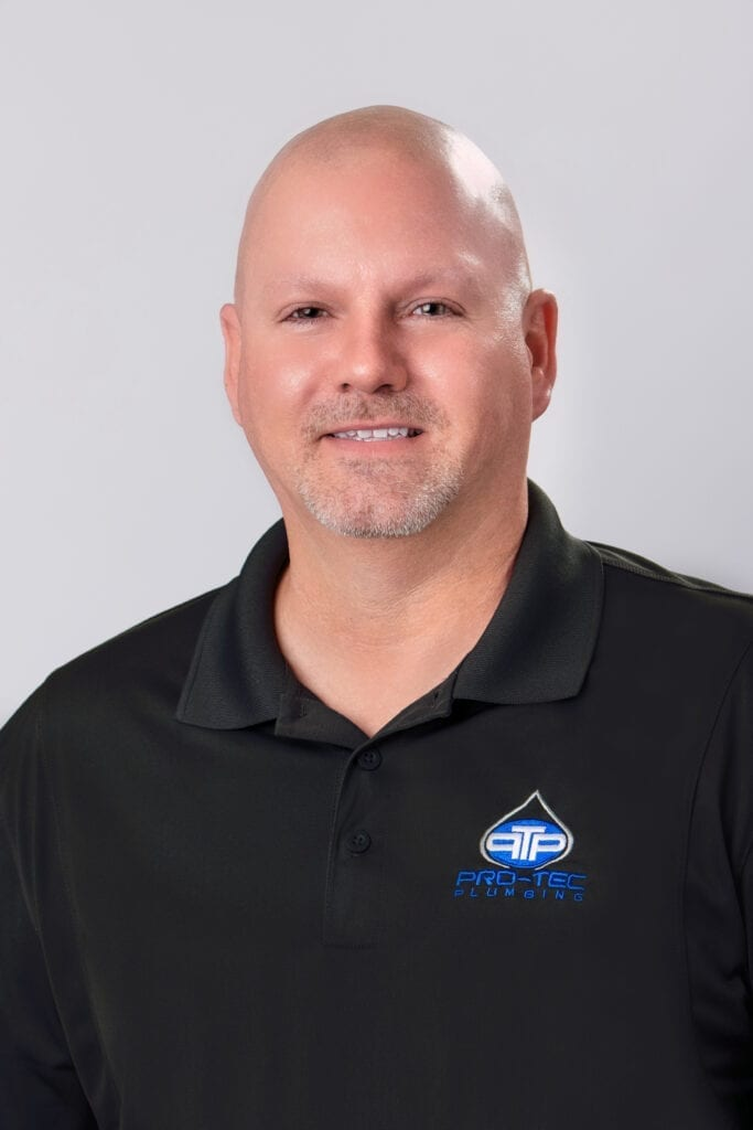 Headshot of Pro-Tec Plumbing employee and service manager Carl F.