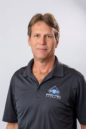 Headshot of Pro-Tec Plumbing employee and service plumber David L.