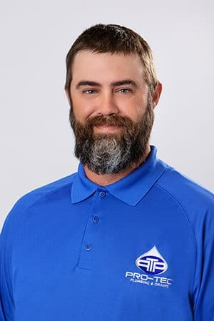 Headshot of Pro-Tec Plumbing employee and construction plumber Matthew N.