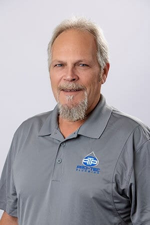 Headshot of Pro-Tec Plumbing employee and senior warehouse manager Richard Hume